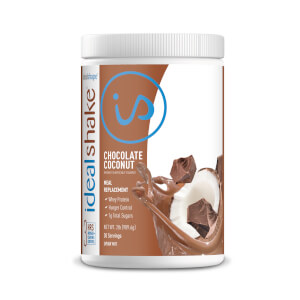 IdealShake Chocolate Coconut - Meal Replacement Shake - 30 Servings