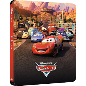 Cars - Steelbook Exclusivo de Zavvi Edición Limitada -
