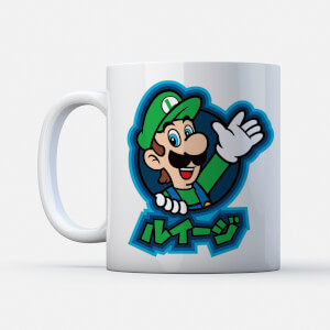 "Taza Nintendo Super Mario ""Luigi Kanji"""