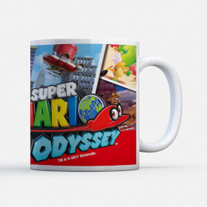 Nintendo Super Mario Odyssey Cappy Mug