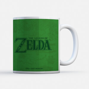 Nintendo Legend Of Zelda Triforce Mug