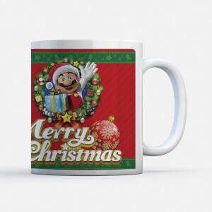 "Taza Navidad Nintendo Super Mario ""Merry Christmas"""