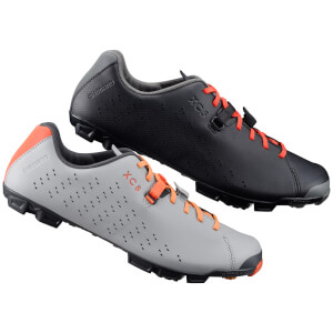 Shimano XC5 MTB Shoes - Grey/Orange