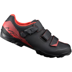Shimano ME3 MTB Shoes - Black/Orange