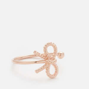 Olivia Burton Women's Vintage Bow Ring - Rose Gold