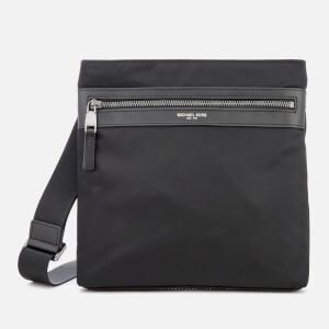 Michael Kors Men's Kent Flat Cross Body Bag - Black