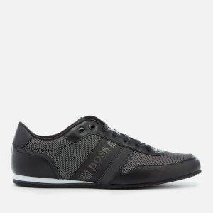 BOSS Green Men's Lighter Low Profile Trainers - Black