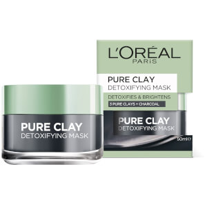 LOréal Paris Pure Clay Mask Detoxifies & Brightens 50ml