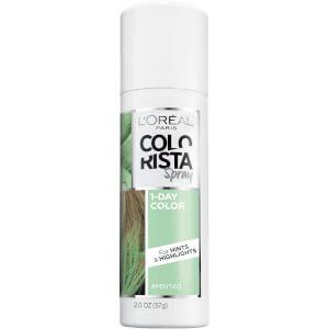 L'Oreal Colorista 1 Day Colour Spray Mint