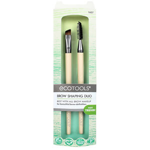 EcoTools Brow Shaping Duo, 2 Brushes