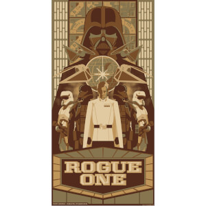 Serigrafía Rogue One: Una historia de Star Wars - James Carroll (30,5 cm x 61 cm)