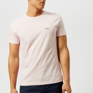 BOSS Green Men's Tee Small Logo T-Shirt - Pink