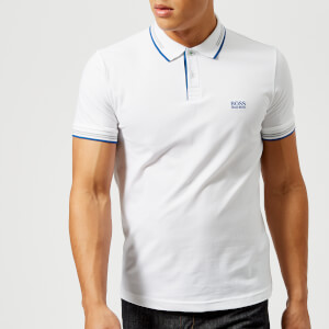 BOSS Green Men's Paul Polo Shirt - White