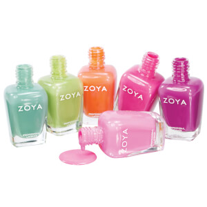 Zoya Beach and Surf 2012 Nail Polish Collection