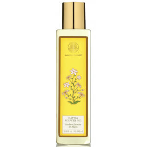 Forest Essentials Luxurious Ayurveda Moisture Replenishing Bath & Shower Oil - Madurai Jasmine & Mogra