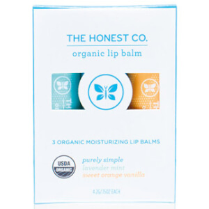 The Honest Company Organic Lip Balm Set