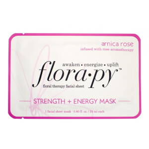 Florapy Beauty Strength + Energy Mask - Arnica Rose