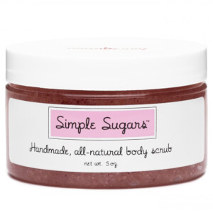 Simple Sugars All-Natural Body Scrub - Cranberry