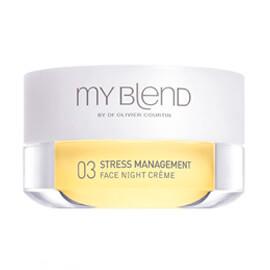 My blend FORMULE 03 NUIT, Stress & Mangement, Peau mixte à tendance grasse, âge adulte
