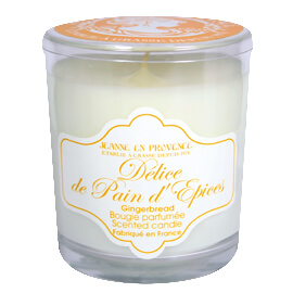 Bougie parfumée Délice de Pain d'Epices