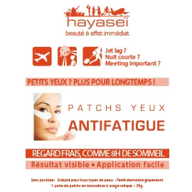 Hayasei Patchs Yeux Anti-Fatigue