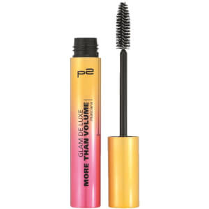 p2 cosmetics glam de luxe more than volume mascara