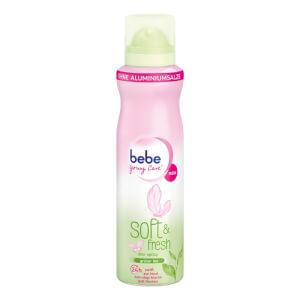 bebe Deo Spray Soft&Fresh