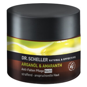 DR. SCHELLER NATURAL & EFFECTIVE ARGANÖL & AMARANTH Anti-Falten Pflege Nacht