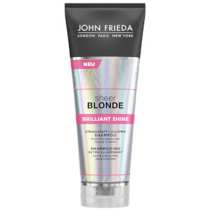John Frieda Sheer Blonde Brilliant Shine Strahlkraft + Volumen Shampoo