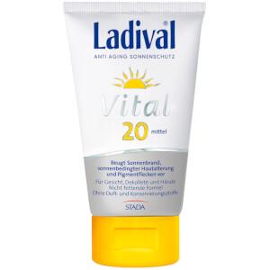 LADIVAL® Vital Anti Aging Sonnenschutz Creme LSF 20