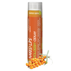Naked Lips Organic Lip Balm, Sea Buckthorn