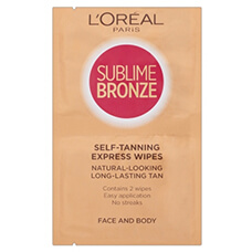 L'Oréal Paris Sublime Bronze Double Wipes