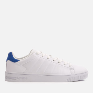K-Swiss Men's Court Frasco Trainers - White/Classic Blue