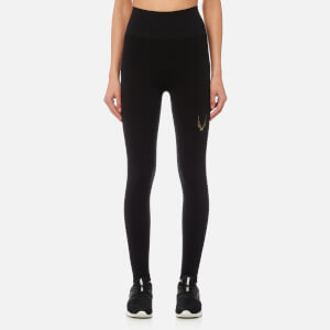 Lucas Hugh Women's Technical Knit 7/8 Leggings - Black