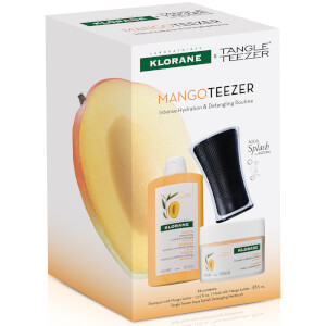 KLORANE Mango Teezer: Intense Hydrating and Detangling Routine (Worth $62)