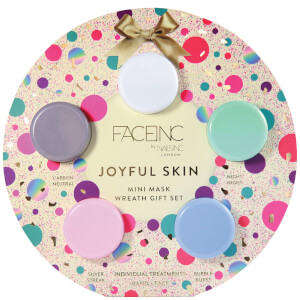 nails inc. Joyful Skin Mask Wreath Gift Set