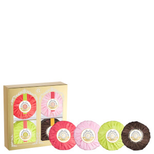 Roger&Gallet Christmas 4 Soap Coffret (Worth £26.00)