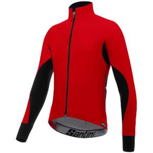 Santini Beta Rain Windstopper Jacket - Red
