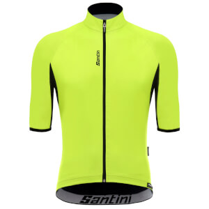 Santini Beta Light Wind Jersey - Yellow