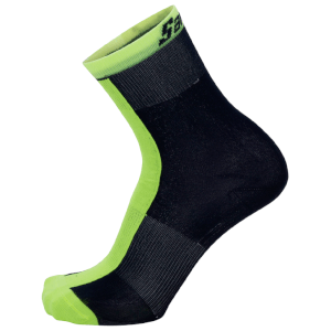 Santini Origine Winter Medium Primaloft Socks - Yellow