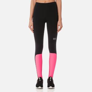 Monreal London Women's Sprinter Leggings - Black/Ultra Pink