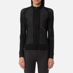 Monreal London Women's Featherweight Jacket - Silver Reptile