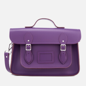 The Cambridge Satchel Company Women's 14 Inch Batchel - Purple