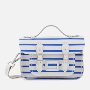 The Cambridge Satchel Company Women's Mini Satchel - Blue Breton Stripe/Clay