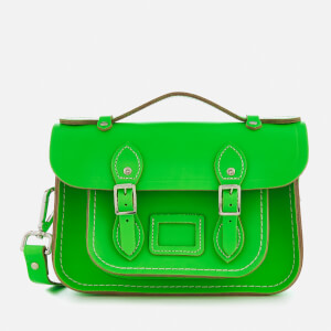 The Cambridge Satchel Company Women's Mini Satchel - Fluoro Green