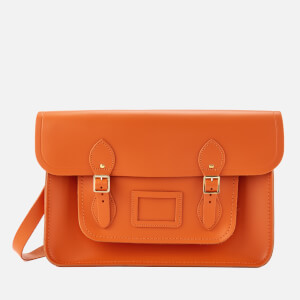 The Cambridge Satchel Company Women's 15 Inch Satchel - Pumpkin