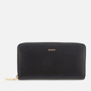 DKNY Women's Bryant Large Zip Around Purse - Black