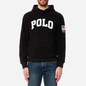 Polo Ralph Lauren Men's Polar Fleece Hoody - Black