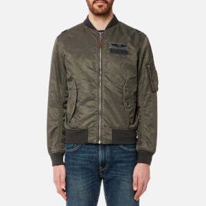 Polo Ralph Lauren Men's Nylon Bomber Jacket - Olive
