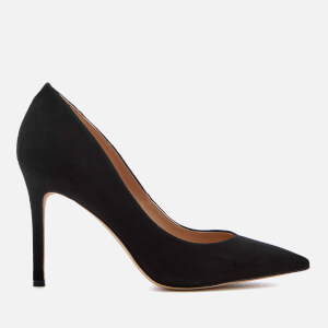 Sam Edelman Women's Hazel Suede Court Shoes - Black